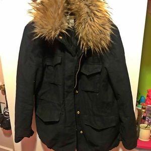 H&M's Fur coat